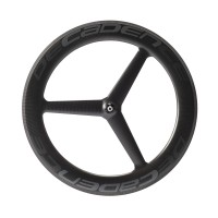 35% Off Tri Spoke 30.9mm Wide 860gr Carbon Clincher Wheel Set & Free Shipping Worldwide